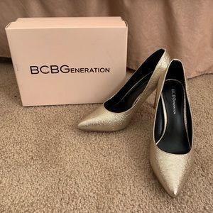 BCBG heels.
